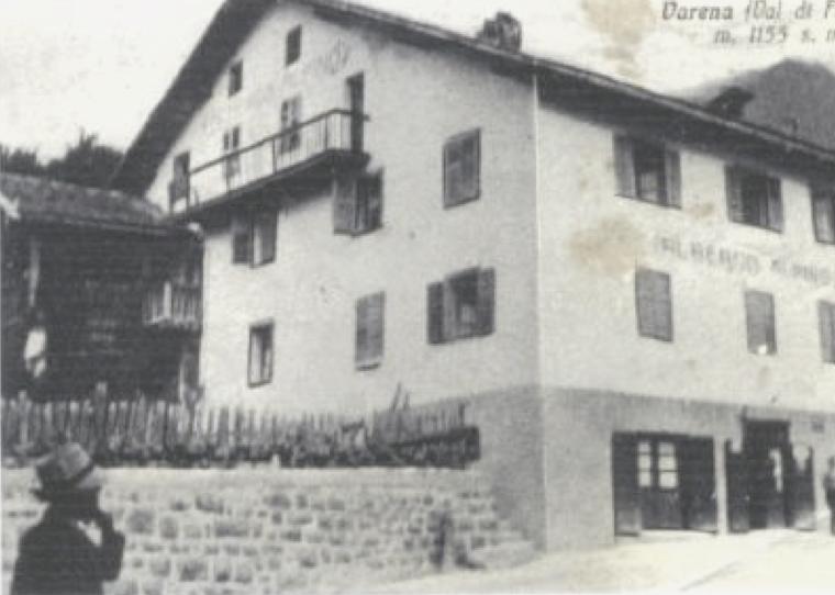 Foto storica - Hotel Alpino Varena