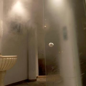 Dettaglio doccia SPA - Hotel Alpino Varena