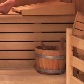 Dettaglio sauna - Hotel Alpino Varena
