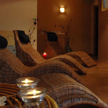 Dettaglio area relax - Hotel Alpino Varena